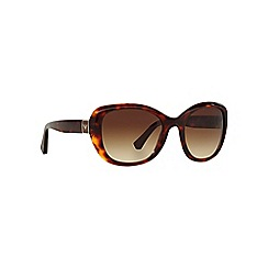 Emporio Armani - Brown EA4052 square sunglasses