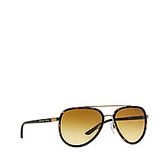 Michael Kors - Brown MK5006 aviator sunglasses