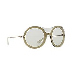 Emporio Armani - White round EA4055 sunglasses