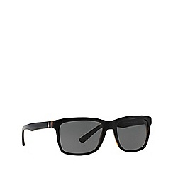 Polo Ralph Lauren - Black PH4098 square sunglasses
