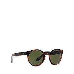Polo Ralph Lauren - Brown PH4101 round sunglasses