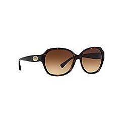 Coach - Brown HC8150 square sunglasses