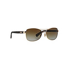Coach - Gold HC7054 aviator sunglasses