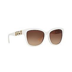 Coach - White HC8156Q square sunglasses