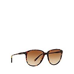 Polo Ralph Lauren - Brown PH4097 round sunglasses