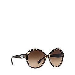 Coach - Brown HC8149 round sunglasses