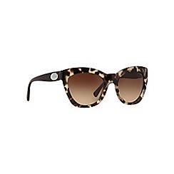 Coach - Brown HC8151 cat eye sunglasses
