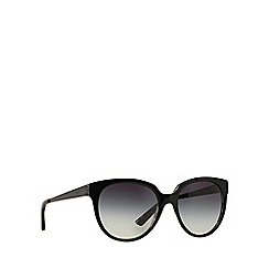 DKNY - Black DY4128 round sunglasses