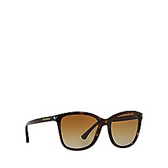 Emporio Armani - Brown A4060 square sunglasses