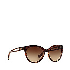 Ralph - Brown RA5204 round sunglasses
