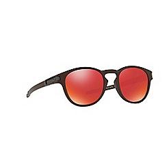 Oakley - Brown 'Latch' OO9265 oval sunglasses
