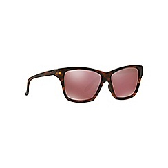 Oakley - Brown irregular OO9298 sunglasses