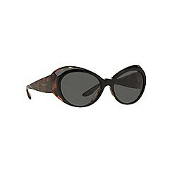 Ralph Lauren - Black RL8139 irregular sunglasses