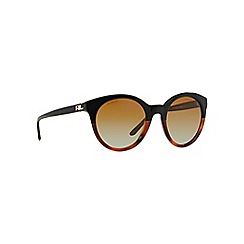 Ralph Lauren - Brown RL8138 butterfly sunglasses