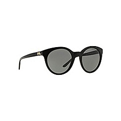 Ralph Lauren - Black RL8138 butterfly sunglasses