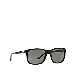 Ralph Lauren - Black RL8142 square sunglasses