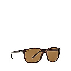 Ralph Lauren - Brown RL8142 square sunglasses