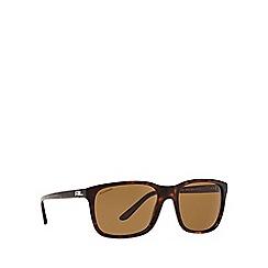 Ralph Lauren - Brown RL8142 square sunglasses