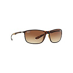 Ray-Ban - Brown square 'RB4231' sunglasses
