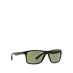 Ray-Ban - Black rectangle 'RB4234' sunglasses