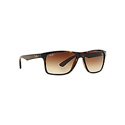 Ray-Ban - Brown rectangle 'RB4234' sunglasses