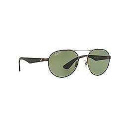 Ray-Ban - Grey round 'RB3536' sunglasses