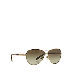 Ralph - Gold pilot RA4116 sunglasses