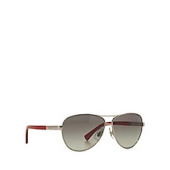 Ralph - Silver RA4116 pilot sunglasses