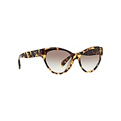 Prada - Brown cat eye PR 08SS sunglasses