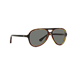 Emporio Armani - Black aviator EA4063 sunglasses