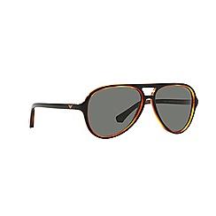 Emporio Armani - Black aviator EA4063 sunglasses