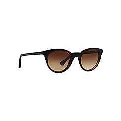 Emporio Armani - Black EA4061 square sunglasses
