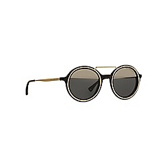 Emporio Armani - Brown EA4062 round sunglasses