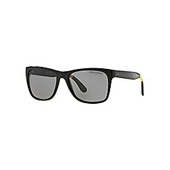 Polo Ralph Lauren - Black PH4106 rectangle sunglasses