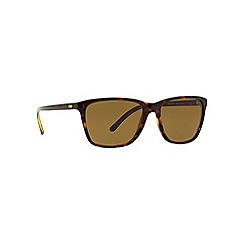 Polo Ralph Lauren - Brown PH4108 square sunglasses
