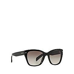 Prada - Black square PR 09SS sunglasses
