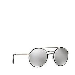 Prada - Black PR51SS round sunglasses