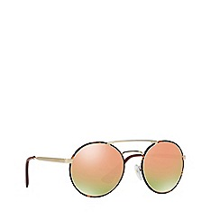 Prada - Havana PR51SS round sunglasses