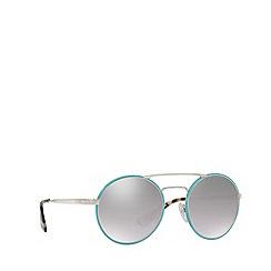 Prada - Blue PR 51SS round sunglasses