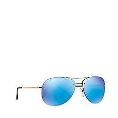 Prada Linea Rossa - Gold aviator PS 50RS sunglasses