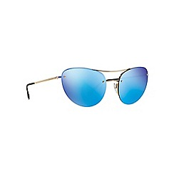 Prada Linea Rossa - Gold irregular PS 51RS sunglasses