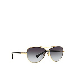 Dolce & Gabbana - Black DG2151 aviator sunglasses