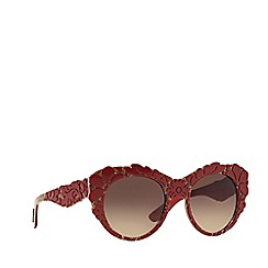 Dolce & Gabbana - Red round DG4267 sunglasses