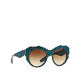 Dolce & Gabbana - Green round DG4267 sunglasses