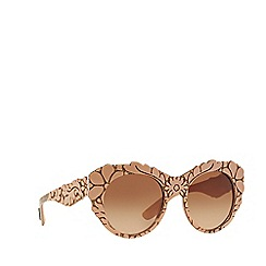 Dolce & Gabbana - Pink round DG4267 sunglasses