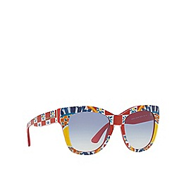 Dolce & Gabbana - Red 0DG4270 square sunglasses