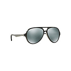Ray-Ban - Grey aviator 'RB4235' sunglasses