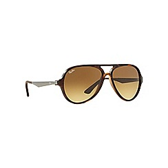Ray-Ban - Brown aviator 'RB4235' sunglasses