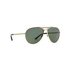 Versace - Gold aviator VE2164 sunglasses