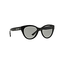 DKNY - Black DY4135 cat eye sunglasses